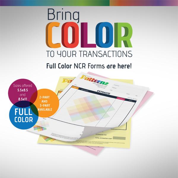 Printed NCR Forms