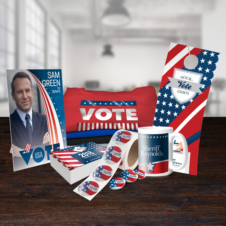 Printed Campaign Products