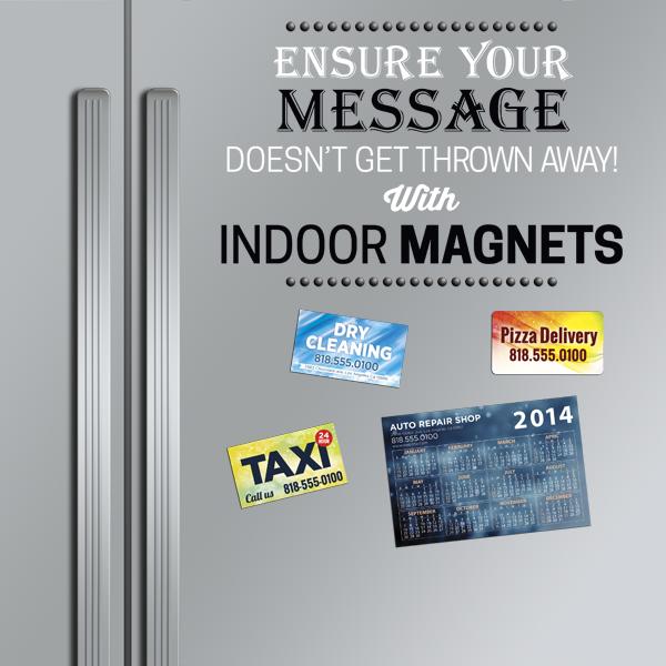 Printed Refrigerator Magnets