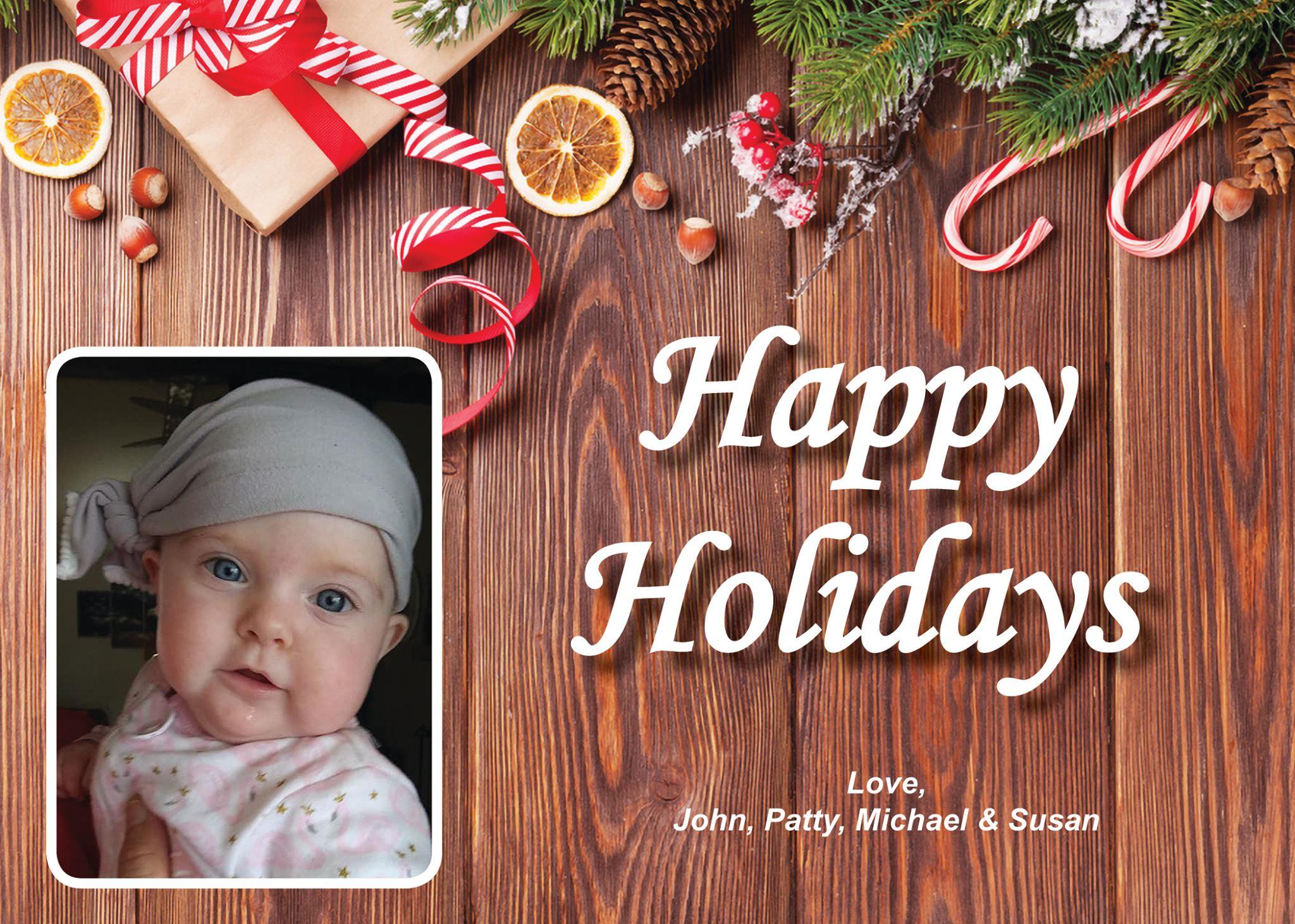 Printed Christmas Card 2