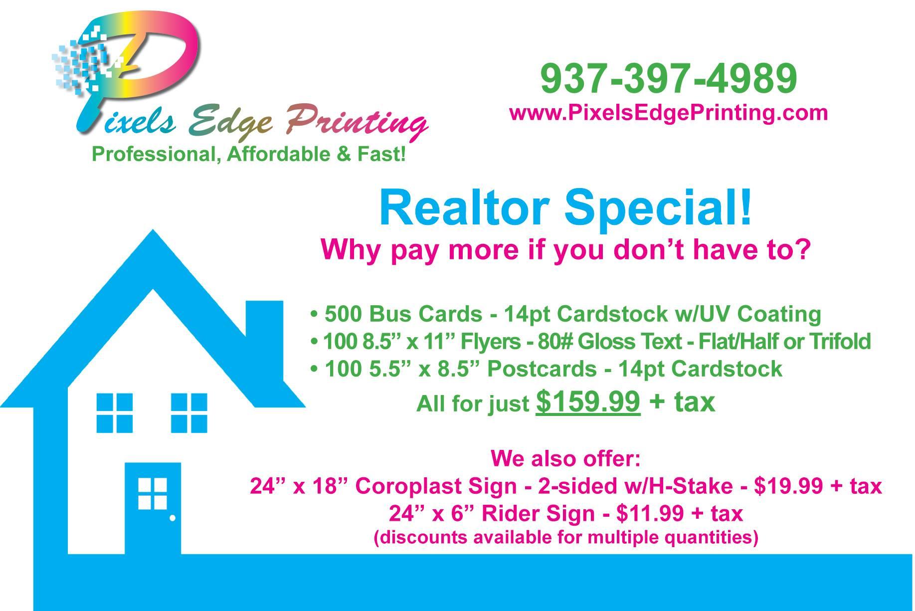 Printed Real Estate Card